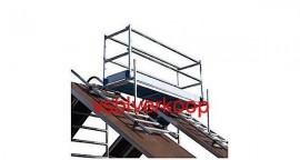 Euroscaffold nieuwe schoorsteensteiger dubbelzijdig